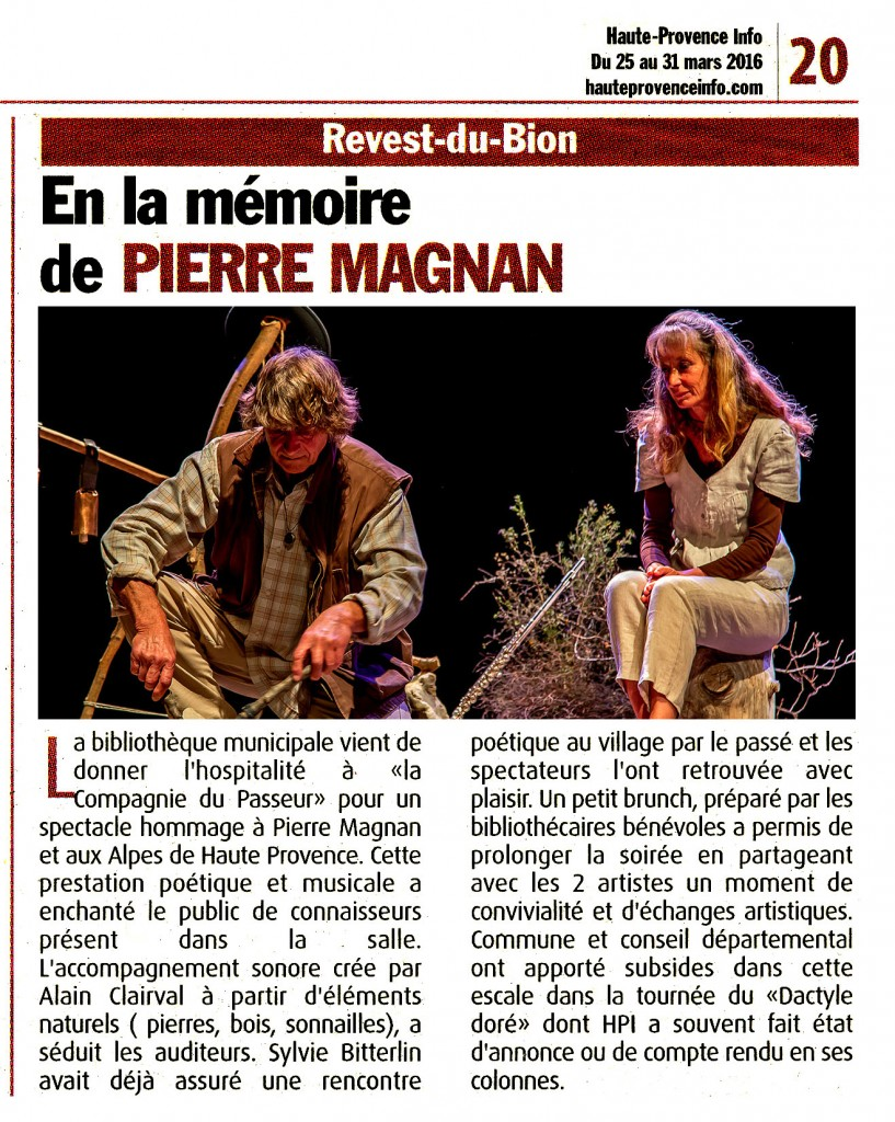 Dactyle au Revest du Bion-HPI