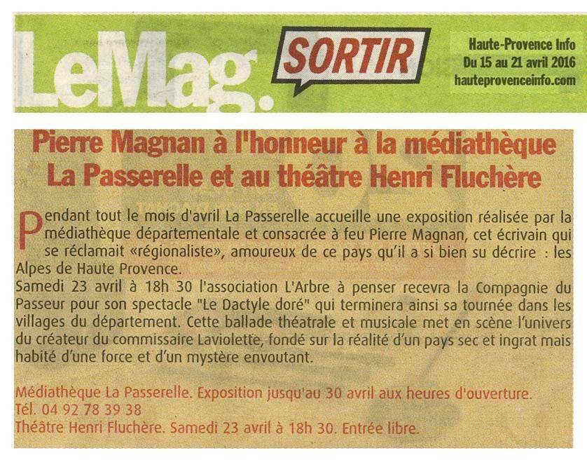 Le Mag sortir