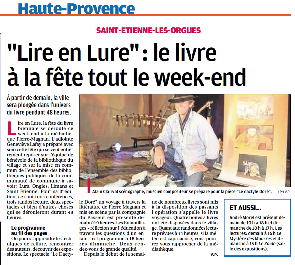 article lire en lure